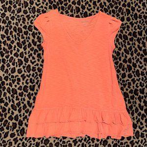 Lilly Pulitzer • Sunrise Orange Mona Top || Medium